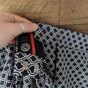 Dalia Pants - NWOT Printed Pants
